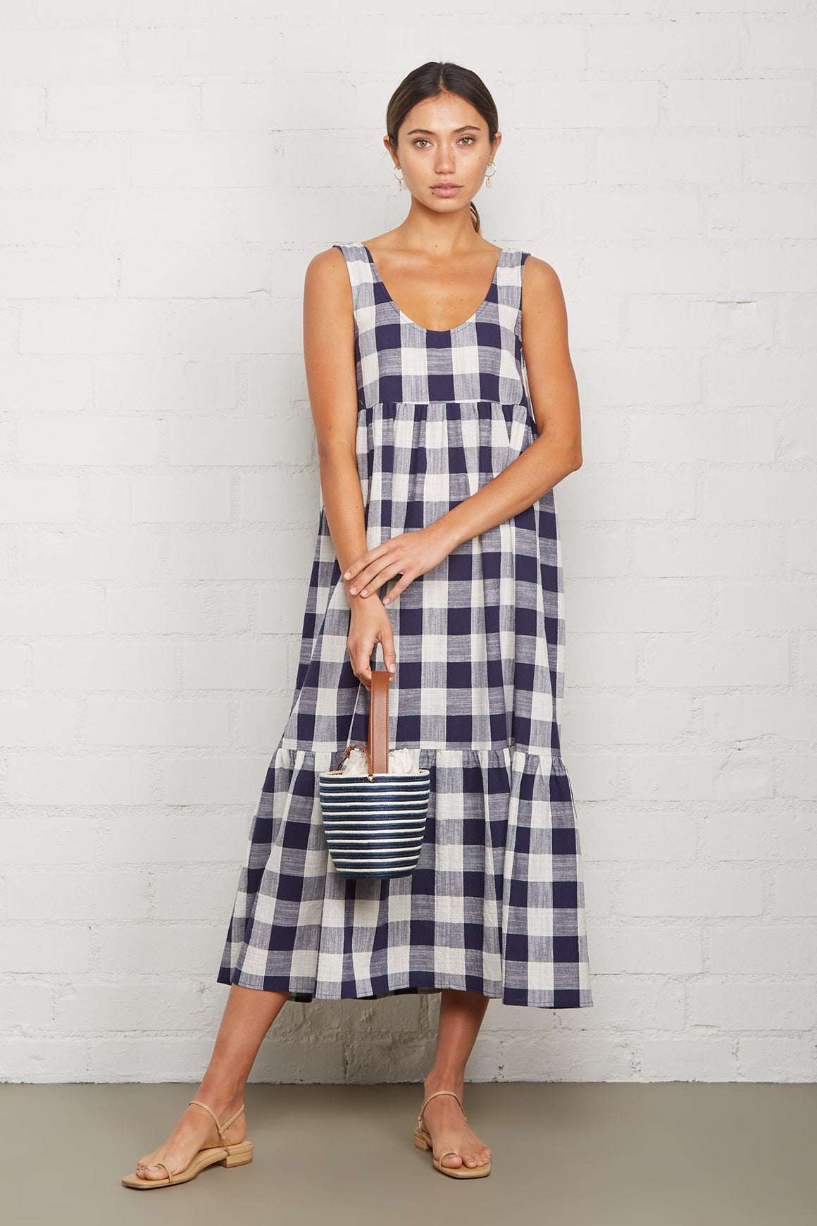 Picnic Plaid Bri Dress