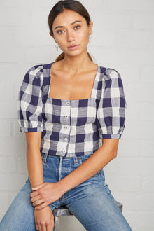 Picnic Plaid Kimmie Top