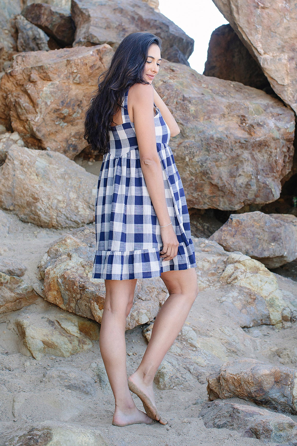 Picnic Plaid Patsy Dress - Maternity