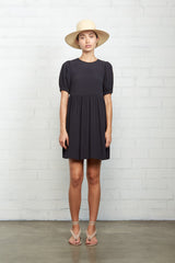 Crepe Carrington Dress - Black