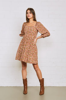 Crepe Julieta Dress