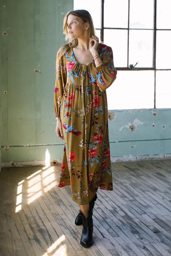 Crepe Rayon Kaylin Dress