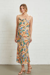 Crepe Fillipa Dress - Tuscany, Maternity