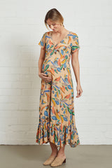 Crepe Joline Dress - Tuscany, Maternity
