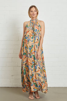 Crepe Lotus Dress - Maternity