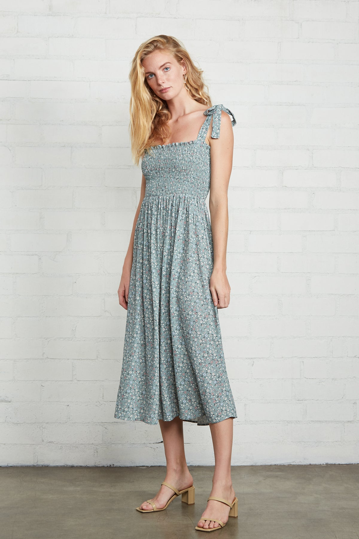 Crepe Pixie Dress - Forget Me Not