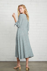 Crepe Tati Dress - Forget Me Not