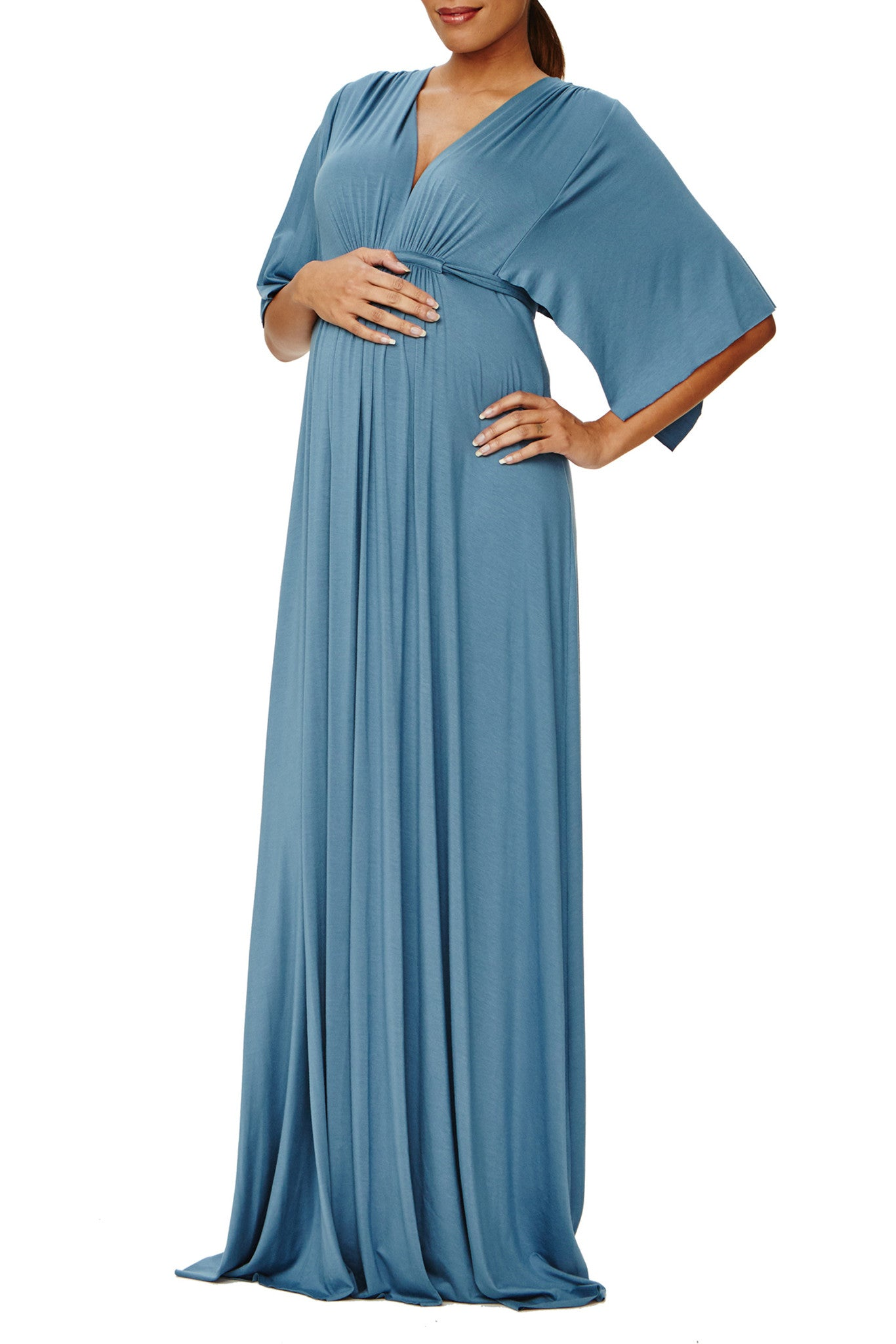 Long Caftan Dress - Moonflower