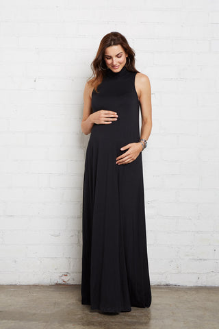 Cait Dress - Black, Maternity