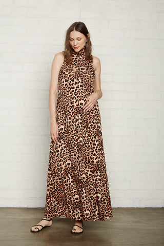 Cait Dress - Leopard, Maternity