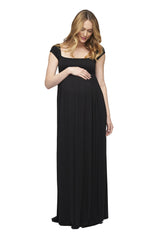 Cap Sleeve Isa Dress - Black