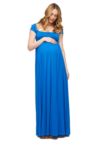 Cap Sleeve Isa Dress - Delta
