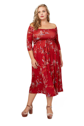 Cassey Dress WL Print - Garland