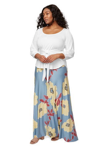 Long Full Skirt - Bloom, Plus Size
