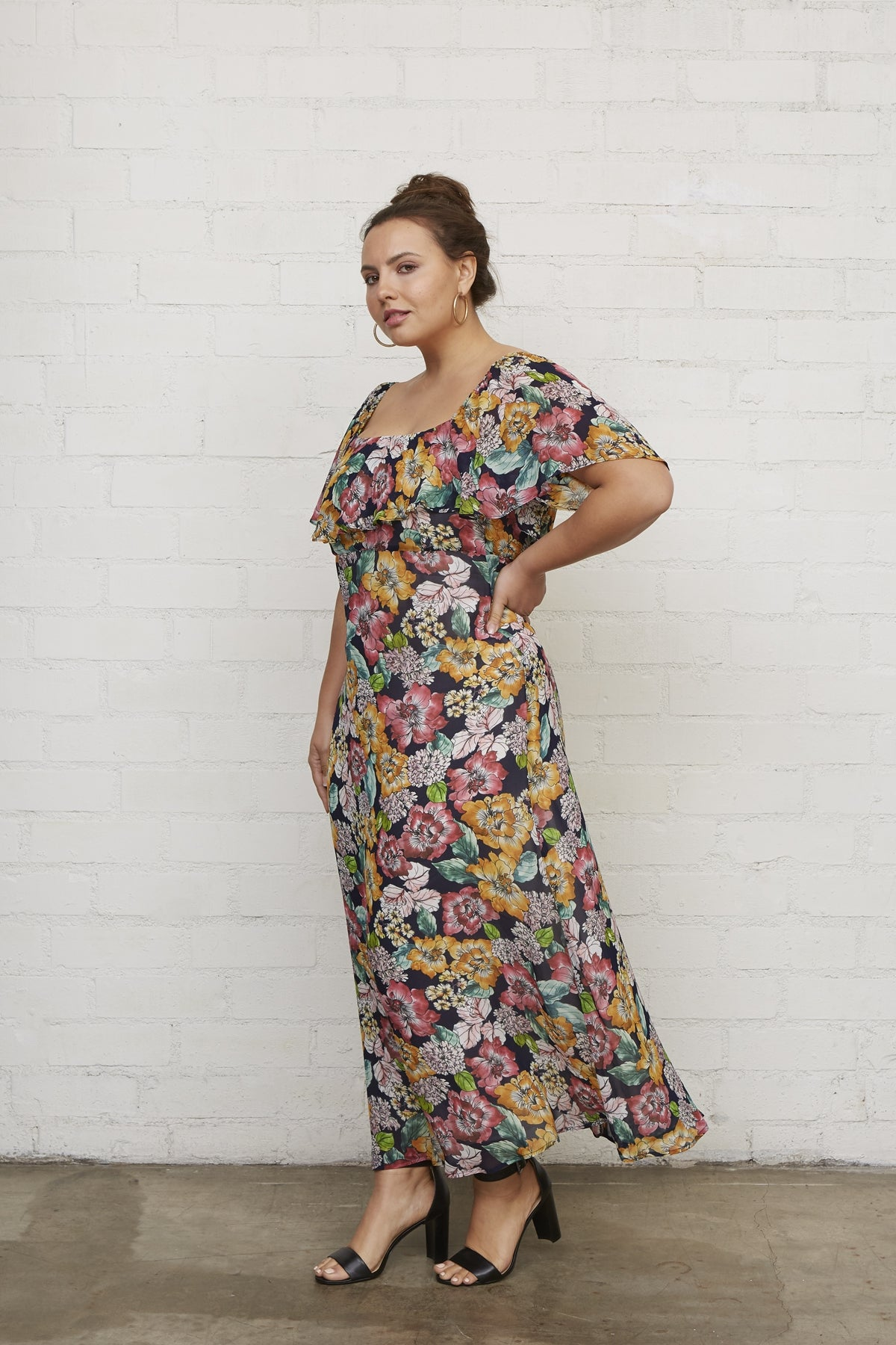 Chiffon Eden Dress - Bouquet, Plus Size