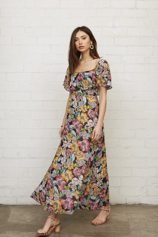 Chiffon Eden Dress - Bouquet