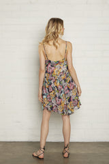 Chiffon Lola Dress - Bouquet, Maternity