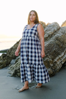 Picnic Plaid Bri Dress - Plus Size