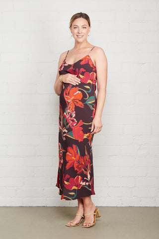 Crepe Bias Dress - Tulip, Maternity