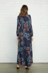 Crepe Carina Dress - Paisley, Maternity