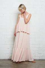 Crepe Chiffon Maude Dress - Shell