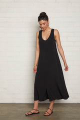 Crepe Danni Dress - Black