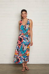 Crepe Danni Dress - Tropic
