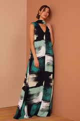 Crepe Delphine Dress - Painter