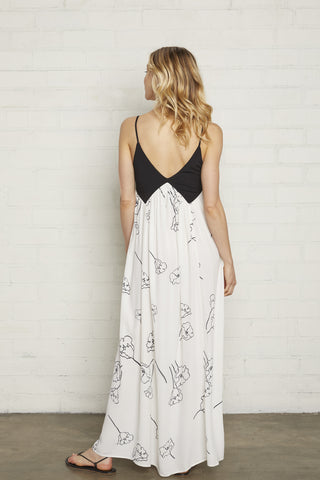 Crepe Dianna Dress - California, Maternity