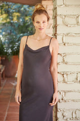 Crepe Fillipa Dress - Black, Maternity
