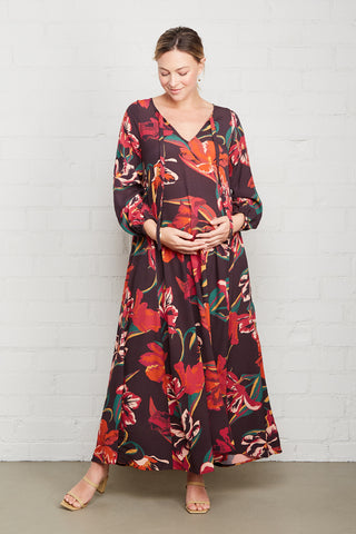 Crepe Manon Dress - Tulip, Maternity