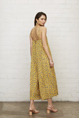 Marlon Jumpsuit in Floret Back View
