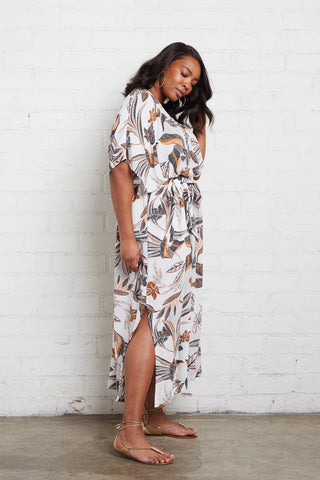 Crepe Rae Dress - Isla Print, Plus Size