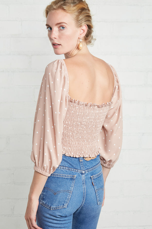 Crepe Reign Top