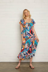 Crepe Sibil Dress - Tropic, Maternity
