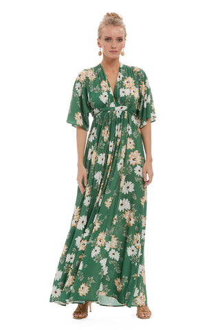 Crepe Rayon Willow Dress - Zinnia