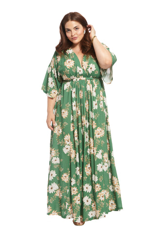 Crepe Rayon Willow Dress - Zinnia, Plus Size