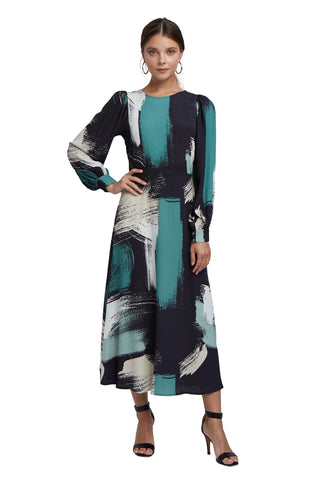 Crepe Zola Dress - Painter