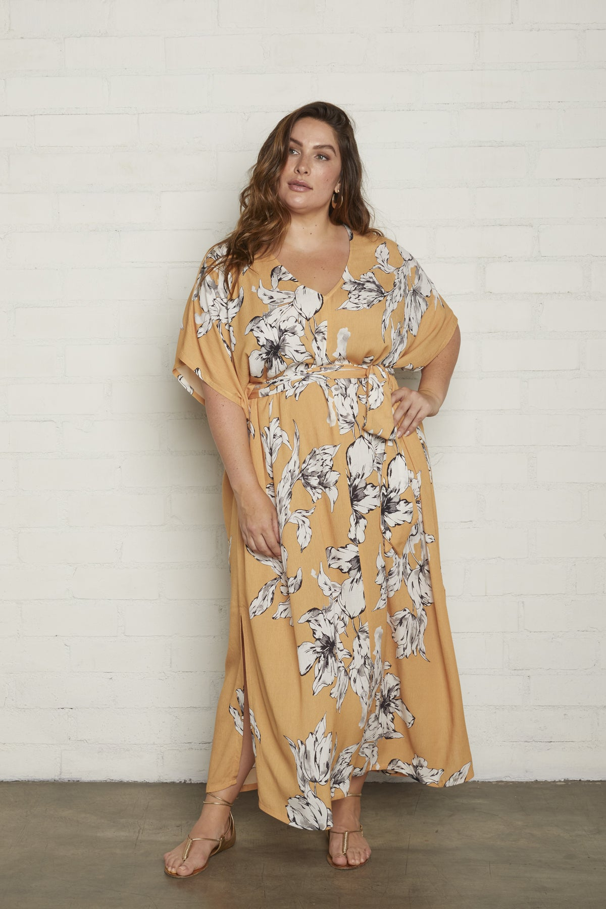 Crinkle Rae Dress - Provence Print, Plus Size