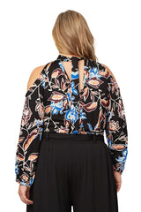 Dieda Top WL Print - Folk Flower