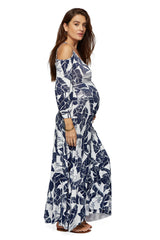 Dominic Dress - Palm, Maternity
