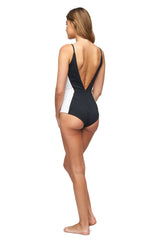 Dunes Maillot - Black/White