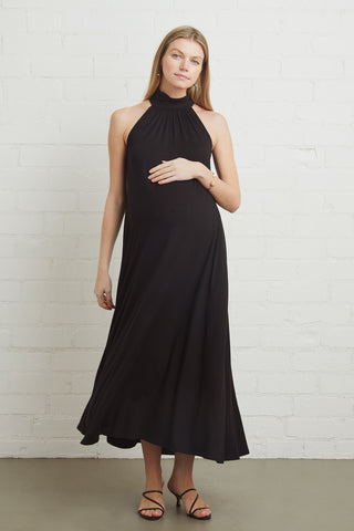 Enzo Dress - Black, Maternity