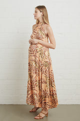 Enzo Dress - Palm, Maternity