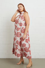 Enzo Dress - Ruby Matilija, Plus Size