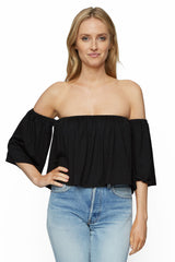 Esmeralda Top - Black