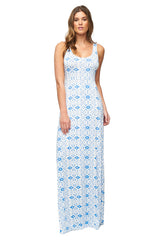 Esther Dress Print - Delta Medallion