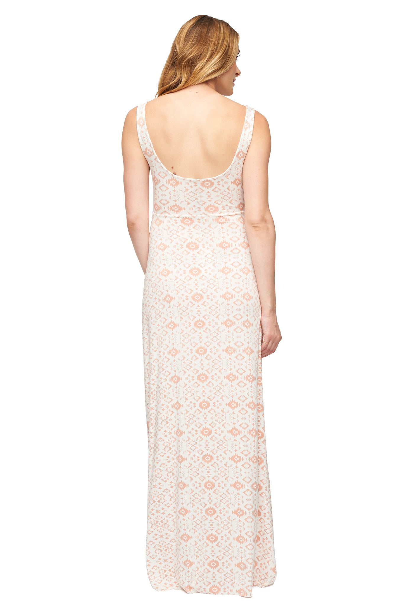 Esther Dress Print - Dusty Medallion