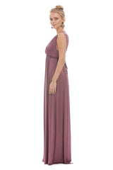 Long Sleeveless Caftan - Cameo