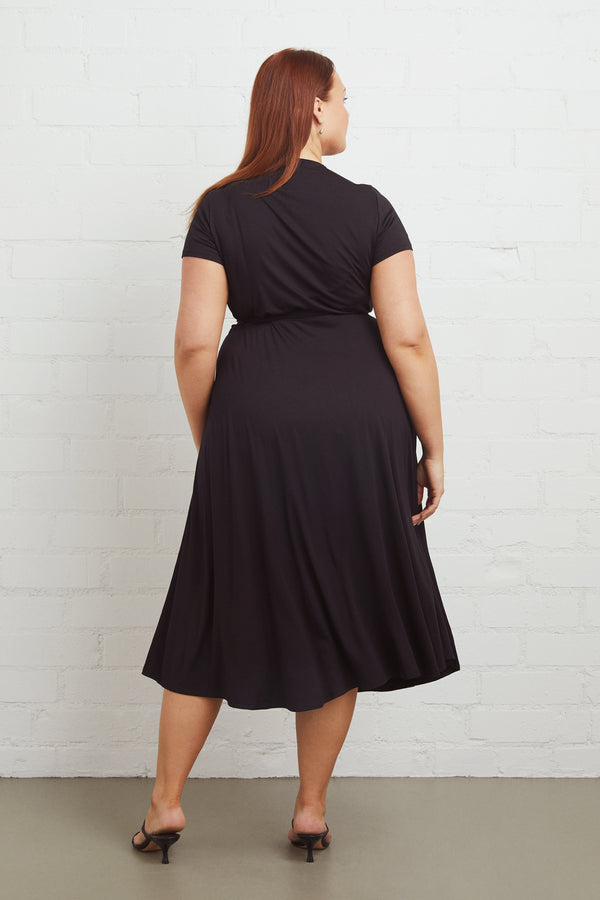 Frankie Wrap Dress - Plus Size